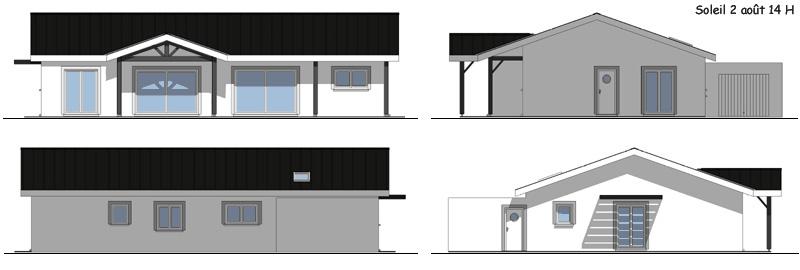 Plan et avant projet de construction for Projet de construction maison