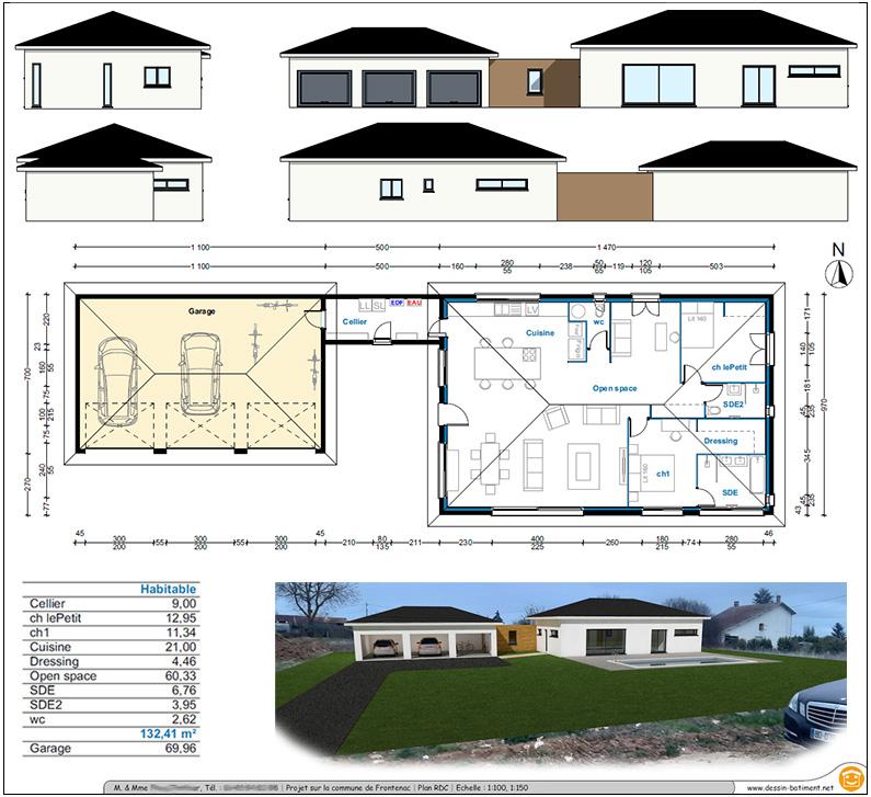 Plan Et Avantprojet De Construction - Realisation de plan de maison