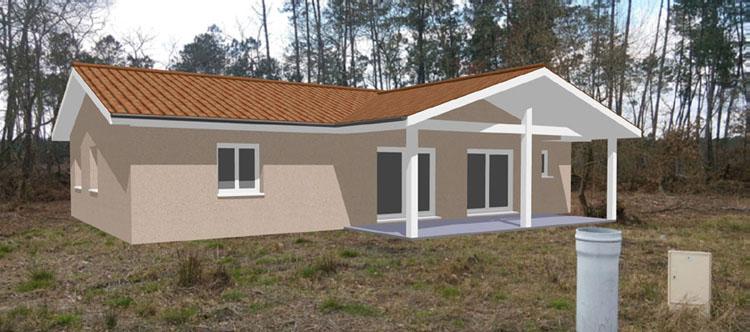 Exemples de r alisations for Constructeur maison individuelle dax