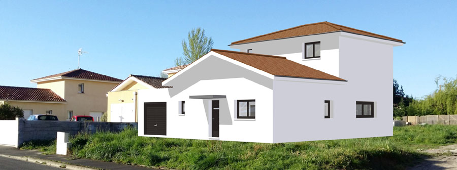 Exemples de mes r alisations for Construire maison 91