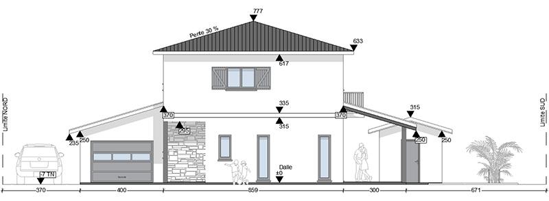 Dessin D Architecture Plan Et Permis De Construire