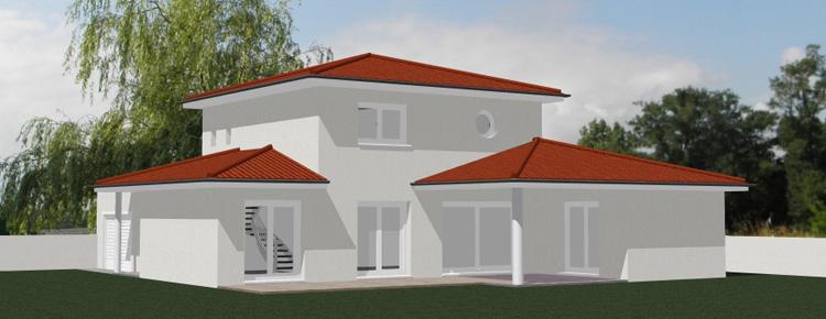 Dessin D Architecture Moderne : Dessin maison architecte ventana